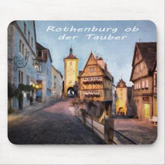 Rothenburg ob der Tauber Mouse Mat