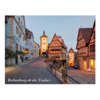 Rothenburg ob der Tauber Postcard