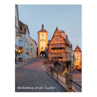 Rothenburg ob der Tauber Postcard