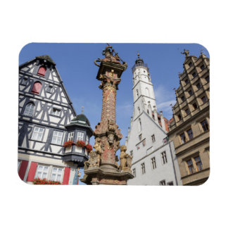 Rothenburg ob der Tauber Rectangular Photo Magnet