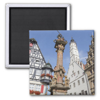 Rothenburg ob der Tauber Square Magnet