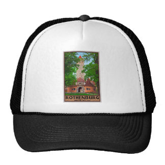 Rothenburg od Tauber - Burgtor Mesh Hats