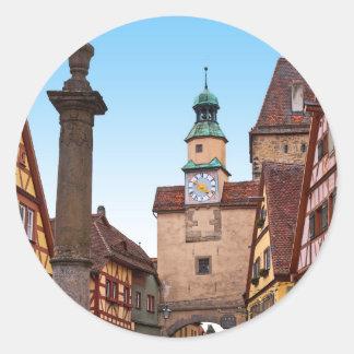 Rothenburg od Tauber - Markusturm Sticker
