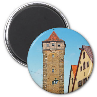 Rothenburg od Tauber - Rödertor 6 Cm Round Magnet