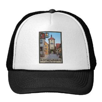 Rothenburg od Tauber - Sieberstor Mesh Hat