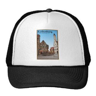 Rothenburg od Tauber - St Georgbrunnen Cap