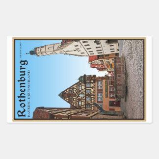 Rothenburg od Tauber - St Georgbrunnen Stickers