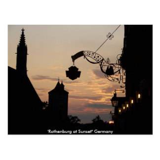 Rothenburg Post Card
