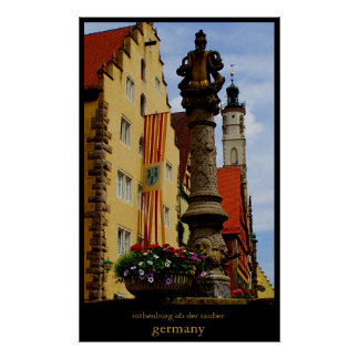 rothenburg poster
