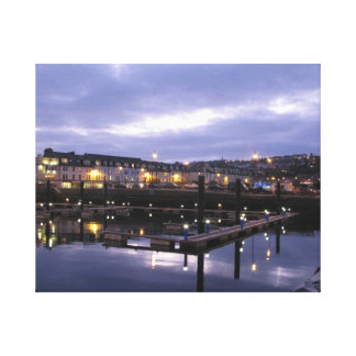 Rothesay Harbour Canvas Print