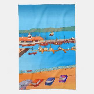 Rothesay Marina Tea Towel