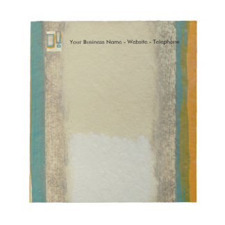 Rothko Inspired Abstract Notepad