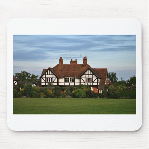 Rothschild Houses on the Rec'at Wingrave Mouse Pad