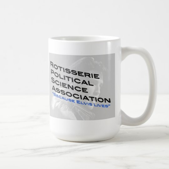 Rotisserie Political Science Coffee Cup