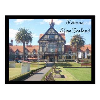 Rotorua Museum postcard