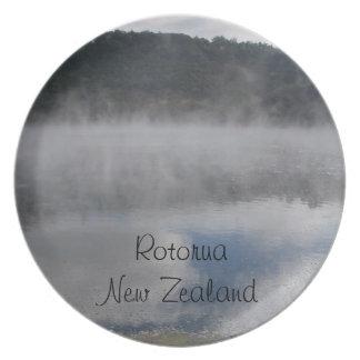 Rotorua, New Zealand plate