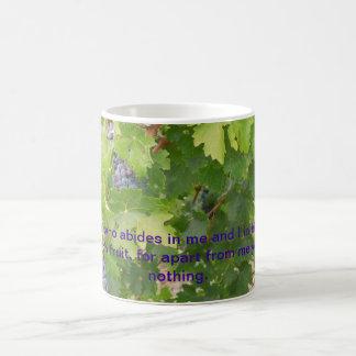 Rotta Dry Farmed Grapes on the Vine Basic White Mug
