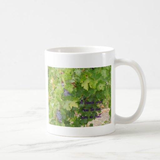 Rotta Dry Farmed Grapes on the Vine Coffee Mug