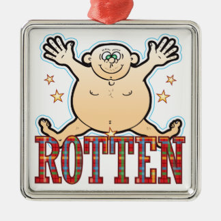 Rotten Fat Man Christmas Ornament