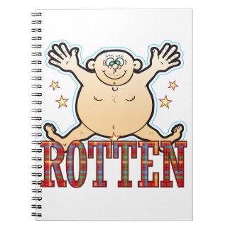 Rotten Fat Man Spiral Notebook