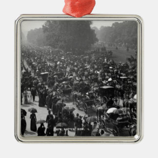 Rotten Row in Hyde Park, London, c.1890 Christmas Ornament