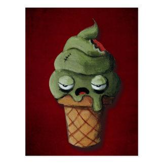 Rotten Zombie Ice Cream Postcards