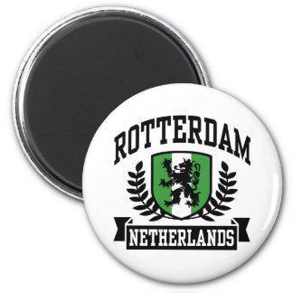 Rotterdam 6 Cm Round Magnet