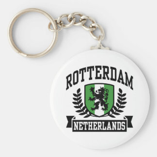 Rotterdam Basic Round Button Key Ring