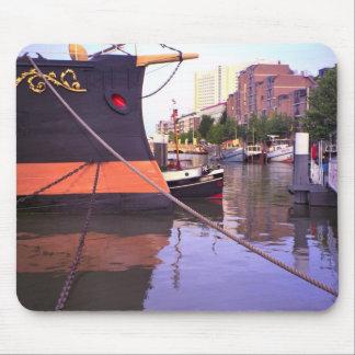 Rotterdam, bow of  Queen Juliana's Royal yacht Mouse Mat