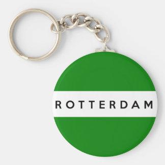 rotterdam city flag netherlands symbol keychains