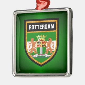 Rotterdam Flag Christmas Ornament