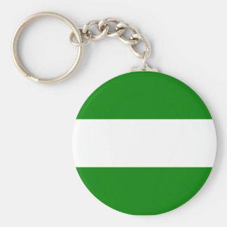 Rotterdam, Netherlands Basic Round Button Key Ring