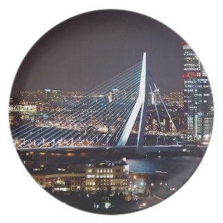 Rotterdam, Netherlands Plate