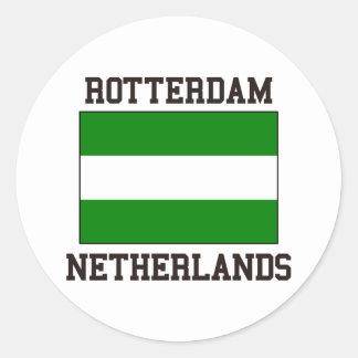 Rotterdam Netherlands Round Sticker