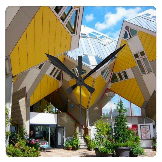Rotterdam, the Cube Wall Clocks