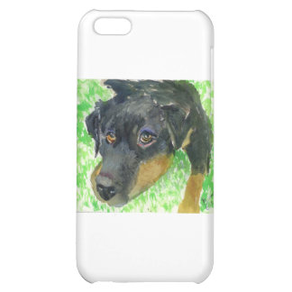 Rottie Looking at You ready to play iPhone 5C Cover