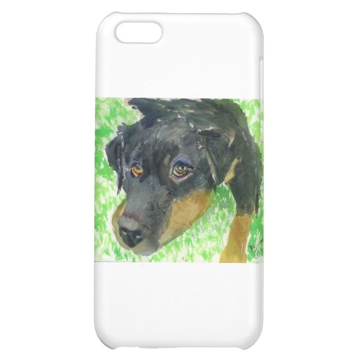 Rottie Looking at You... ready to play? iPhone 5C Cover