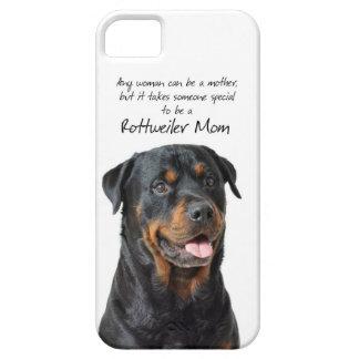 Rottie Mom iPhone 5 Case iPhone 5 Case