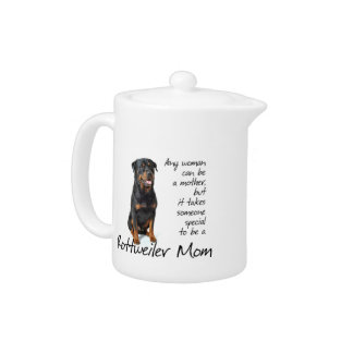 Rottie Mom Teapot