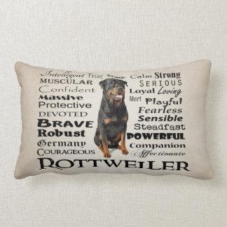 Rottie Traits Pillow