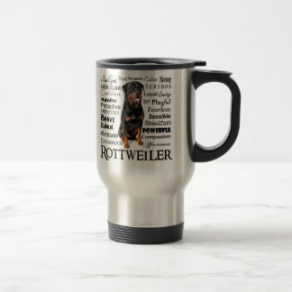 Rottie Traits Travel Mug