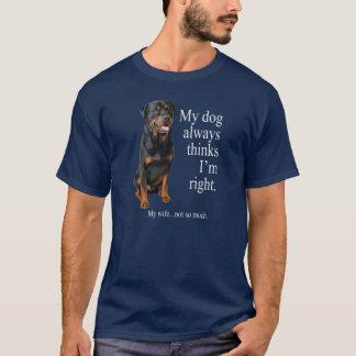 Rottie vs Wife Shirt