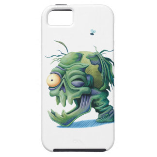 Rotting Head Skull for Halloween iPhone 5 Cases