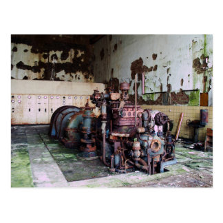 Rotting Machine Postcard