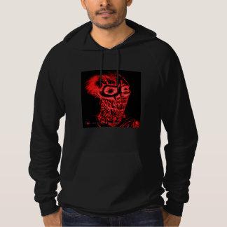 Rotting Zombie Blood Red Men's Hoodie