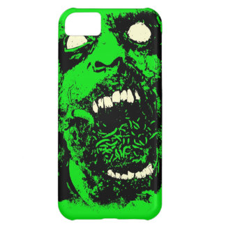 Rotting Zombie Face iPhone 5C Cases