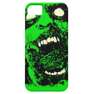 Rotting Zombie Face iPhone 5 Cases