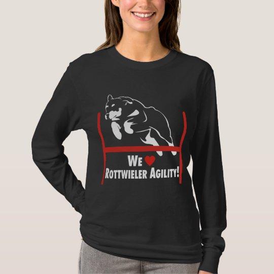 Rottweiler Agility Love T-Shirt