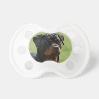 Rottweiler Baby Pacifier