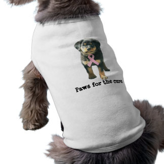 Rottweiler Breast Cancer Pet Clothing